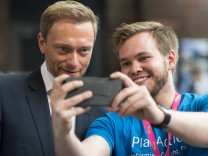 Christian Lindner (links) auf dem FDP-Bundesparteitag in Berlin
