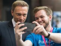 Christian Lindner (links) auf dem FDP-Bundesparteitag in Berlin