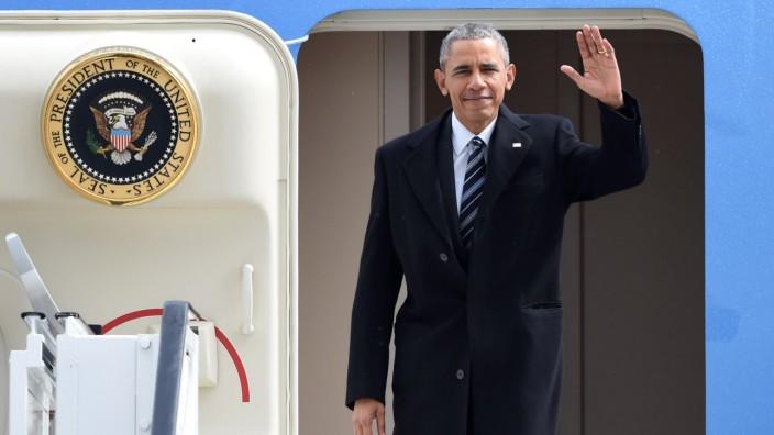 Deutschland-Besuch Barack Obama