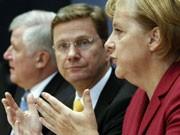 Seehofer, Westerwelle, Merkel, Foto: Reuters