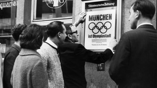 München erhält Zuschlag für Olympia 1972, 1966