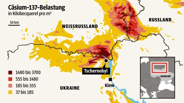 Tschernobyl Karte.30 Jahre Tschernobyl Im Inneren Des Reaktors Schlummert Eine