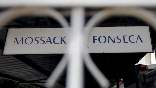 File photo of the Mossack Fonseca law firm sign in Panama City