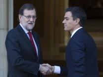 Mariano Rajoy, Pedro Sanchez