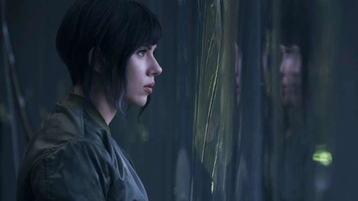 Ghost in the Shell Scarlett Johannson 2017