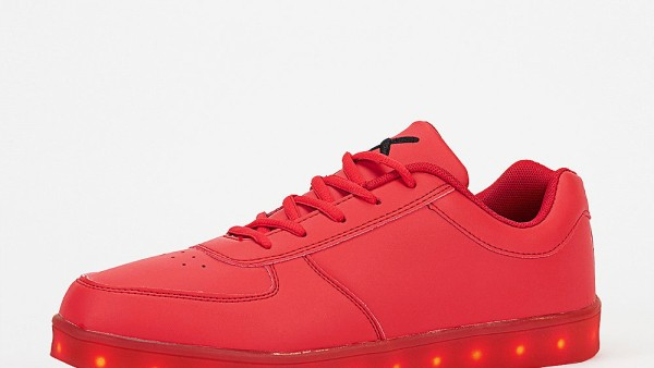 Wize & Ope Schuh The Light LED red
