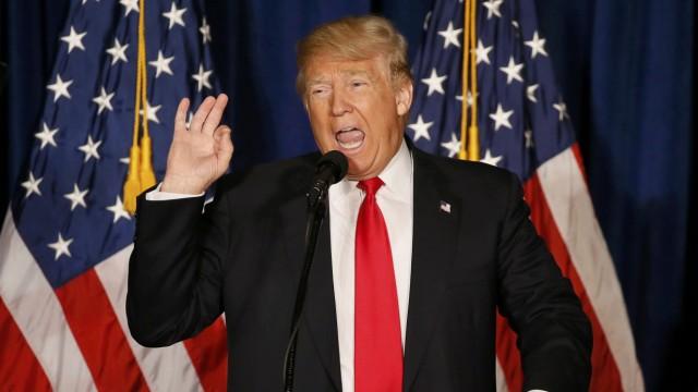 Donald Trump, US-Wahl