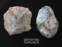 Paläolithisches Steinwerkzeug aus Plakias auf Kreta