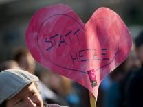 Gepida-Kundgebung in Dresden
