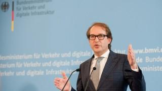 Alexander Dobrindt Verkehrsminister Dobrindt im Interview