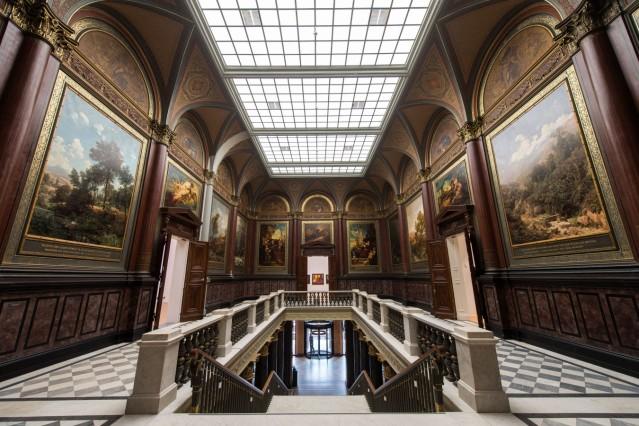 Hamburger Kunsthalle wird eröffnet