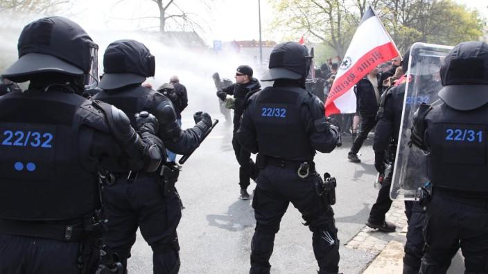 1. Mai in Sachsen