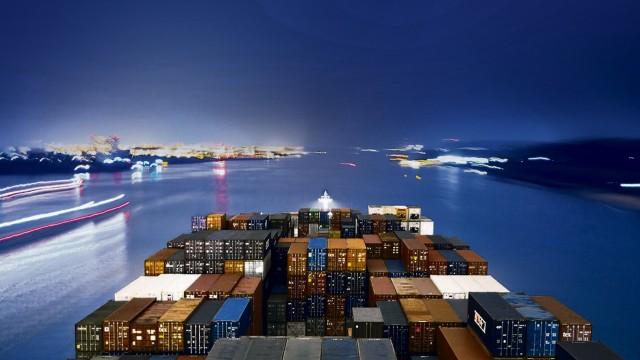 Seereise CMA CGM Carmen / Sea voyage with the CMA CGM Carmen; TTIP 16x9 Aufmacher