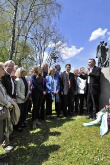 Starnberg  Gedenkfeier, Pilgram Mahnmal