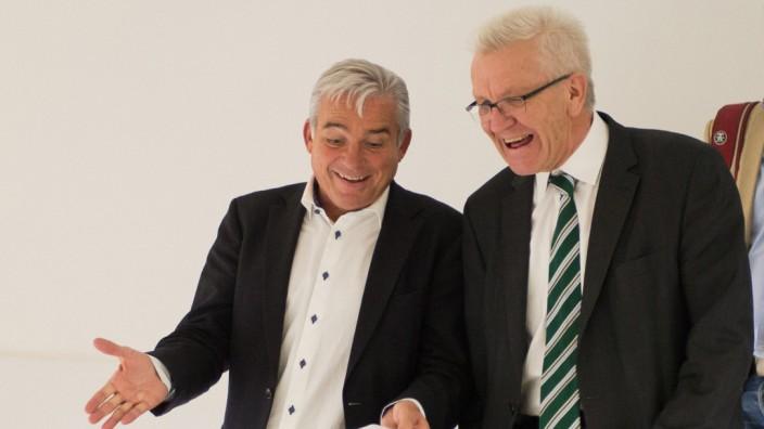 Einigung auf grün-schwarzen Koalitionsvertrag im Südwesten