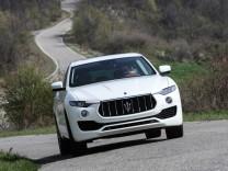 Der neue Maserati Levante.