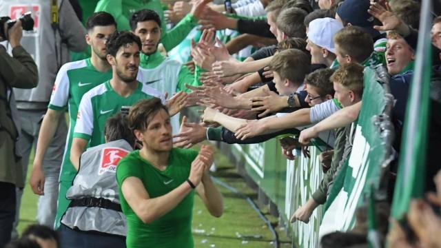 GER 1 FBL Werder Bremen vs VfB Stuttgart 02 05 2016 Weserstadion Bremen GER 1 FBL Werder Brem