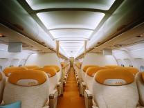 Airbus A320 - Erste Klasse Kabine