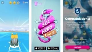 "Re:publica in Berlin Smartphone-Spiel ""Sea Hero Quest"""