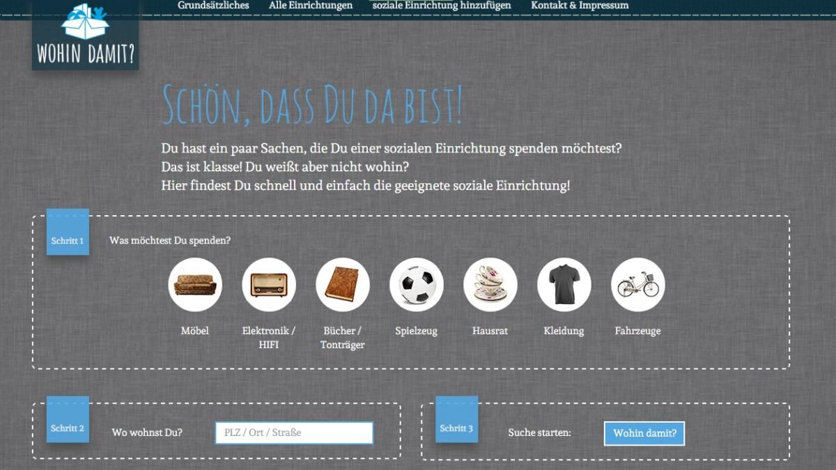 Gebrauchte Gegenstände Entsorgen Einfach Spenden München