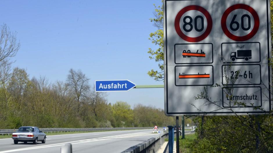 Unterhaching Autobahnlärm