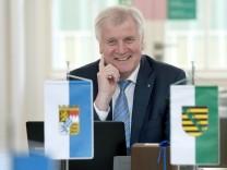 Gemeinsame Kabinettssitzung Sachsen und Bayern