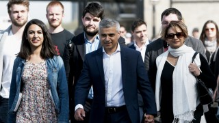 Sadiq Khan Arrives For The Declaration In The London Mayoral Election