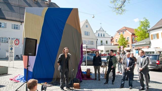 Süddeutsche Zeitung Ebersberg Skulptur für Ebersberg