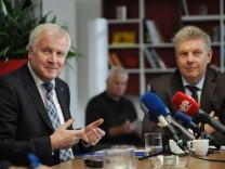 Horst Seehofer und Dieter Reiter verkünden Aus für neues Konzerthaus in München, 2015
