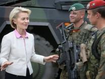 Entsendung zusätzlicher deutscher Truppen an Nato-Ostflanke