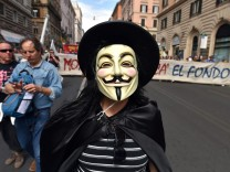 Protest against TTIP in Rome