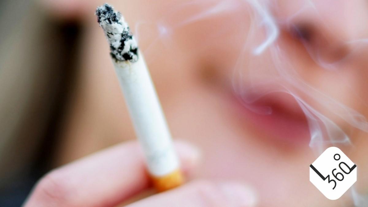 scheiß raucher