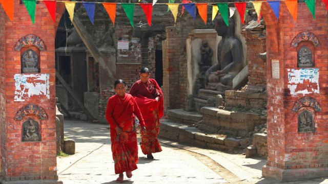 Nepal Nepal nach dem Erdbeben