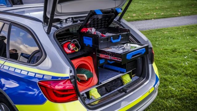 BMW 3er Polizeiautos