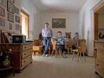 Mühldorf am Inn: Schnaderhüpferlsängerin Helene Enzinger + Sohn Thomas