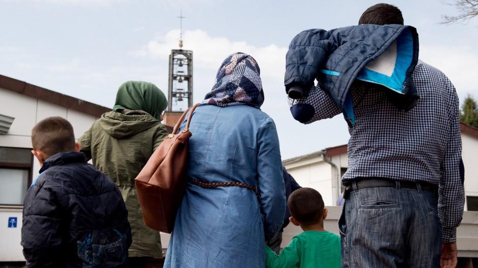 Syrer in Friedland angekommen