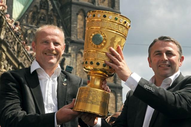 Klaus Allofs und Thomas Schaaf