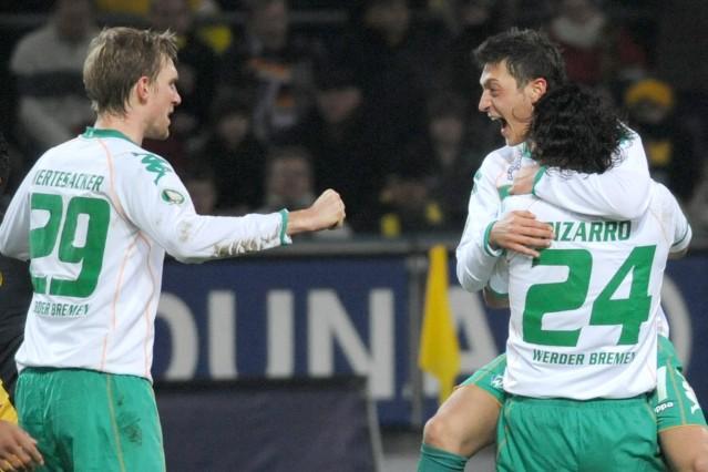 DFB-Pokal Borussia Dortmund - Werder Bremen 1:2