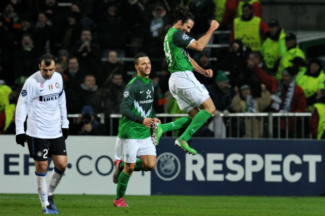 Champions League - Werder Bremen - Inter Mailand