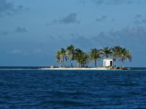 500px Photo ID: 96179843 - Little 'Toilet island' in the middle of Caribbean sea (Belize, Placencia). It was the best office in my life! (office with open space ;-) )