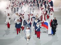 Sotschi 2014 - Eröffnungsfeier - Alexander Subkow