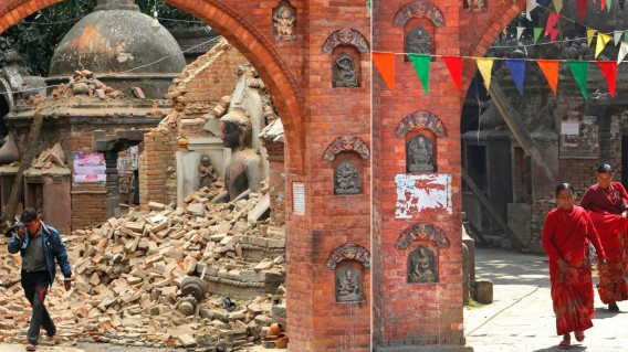 Earthquakes and the consequences