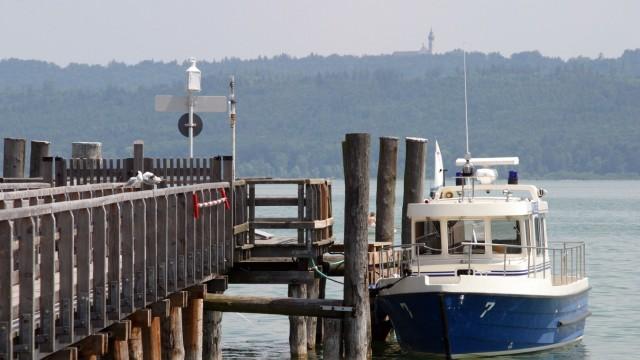 Utting Streit um Polizei-Bootshaus in Utting