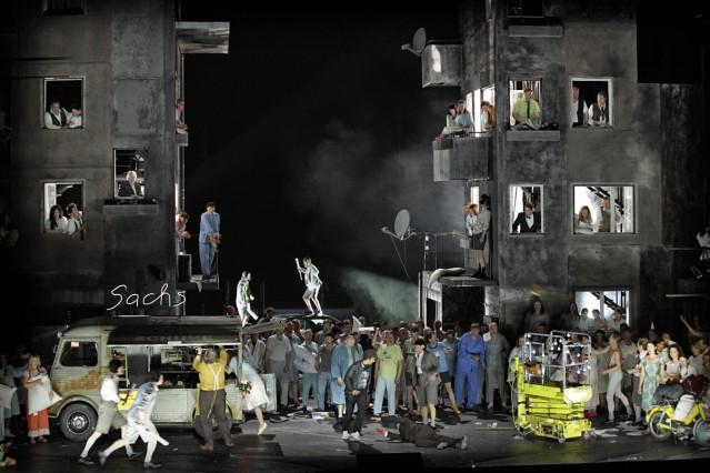 drama berlin de 09 05 2016 Bayerische Staatsoper Muenchen DIE MEISTERSINGER VON NUERNBERG Oper mit