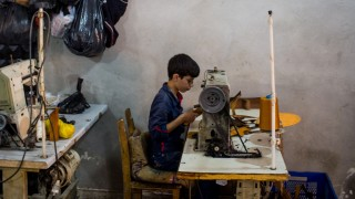 Syrian Refguees Trying To Survive In Turkey Work For Minimum Wages