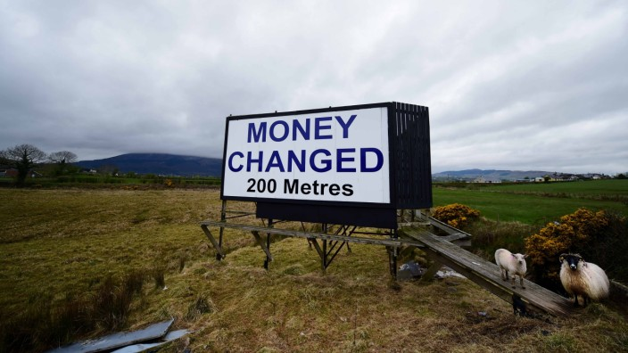 EU Referendum - The Border Lands Separating Northern And Southern Ireland