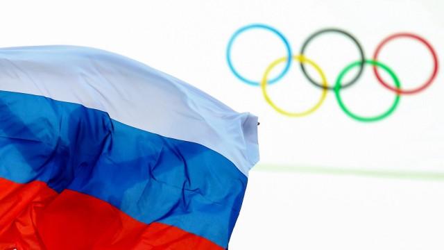 Sotschi 2014 - Olympische Ringe
