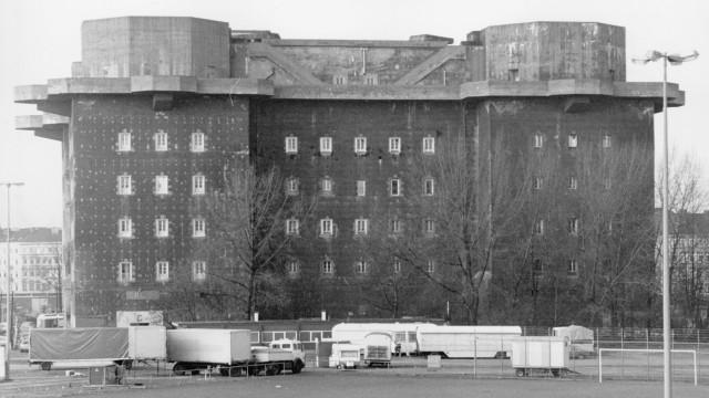 Flak-Bunker in Hamburg, 1986