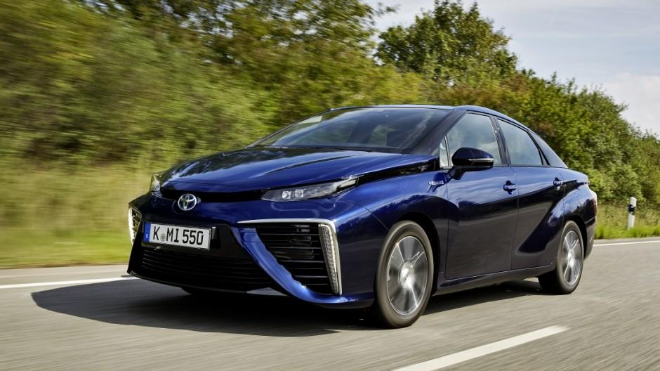 Der neue Toyota Mirai.
