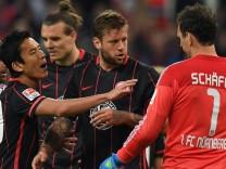 Eintracht Frankfurt - 1. FC Nürnberg